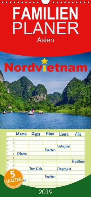 Nordvietnam – Familienplaner hoch (Wandkalender 2019 , 21 cm x 45 cm, hoch) von Hug - Tamashy,  Simone