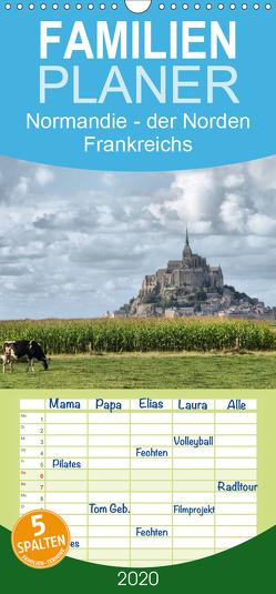 Normandie – der Norden Frankreichs – Familienplaner hoch (Wandkalender 2020 , 21 cm x 45 cm, hoch) von Hartmann,  Carina
