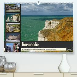 Normandie – Raue Küste und malerische Hafenstädte (Premium, hochwertiger DIN A2 Wandkalender 2020, Kunstdruck in Hochglanz) von Liedtke Reisefotografie,  Silke