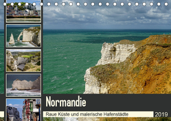Normandie – Raue Küste und malerische Hafenstädte (Tischkalender 2019 DIN A5 quer) von Liedtke Reisefotografie,  Silke