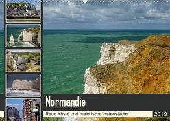 Normandie – Raue Küste und malerische Hafenstädte (Wandkalender 2019 DIN A2 quer) von Liedtke Reisefotografie,  Silke