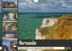 Normandie – Raue Küste und malerische Hafenstädte (Wandkalender 2019 DIN A4 quer) von Liedtke Reisefotografie,  Silke