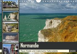 Normandie – Raue Küste und malerische Hafenstädte (Wandkalender 2020 DIN A4 quer) von Liedtke Reisefotografie,  Silke