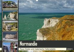 Normandie – Raue Küste und malerische Hafenstädte (Wandkalender 2021 DIN A2 quer) von Liedtke Reisefotografie,  Silke