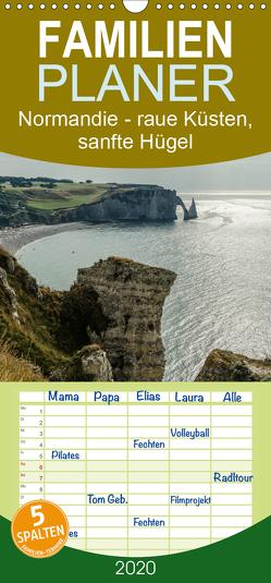 Normandie – raue Küsten, sanfte Hügel – Familienplaner hoch (Wandkalender 2020 , 21 cm x 45 cm, hoch) von Blome,  Dietmar