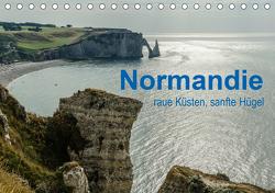 Normandie – raue Küsten, sanfte Hügel (Tischkalender 2021 DIN A5 quer) von Blome,  Dietmar