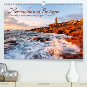 Normandie und Bretagne: Zwischen Leuchttürmen und felsigen Küsten (Premium, hochwertiger DIN A2 Wandkalender 2020, Kunstdruck in Hochglanz) von Aust,  Gerhard