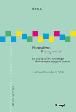 Normatives Management von Dubs,  Rolf