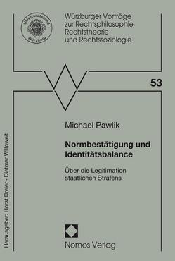 Normbestätigung und Identitätsbalance von Pawlik,  Michael