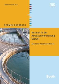 Normen in der Abwasserverordnung (AbwV)