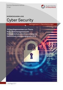 Normensammlung Cyber Security von Austrian Standards Institute