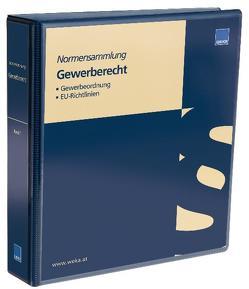 Normensammlung Gewerberecht von Dr. Gerscha,  Arnold M.B.L.-HSG, Dr. Steuer,  Clemens M