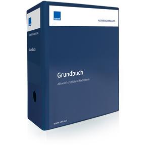Normensammlung Grundbuch von Leissner,  Michael