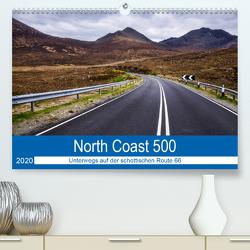 North Coast 500 – Schottlands Traumstraße (Premium, hochwertiger DIN A2 Wandkalender 2020, Kunstdruck in Hochglanz) von Peters-Hein,  Reemt