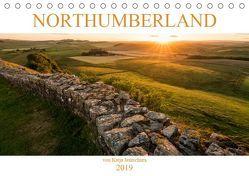 NORTHUMBERLAND 2019 (Tischkalender 2019 DIN A5 quer) von Jentschura,  Katja