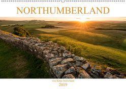 NORTHUMBERLAND 2019 (Wandkalender 2019 DIN A2 quer) von Jentschura,  Katja