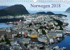 Norwegen 2018 (Wandkalender 2018 DIN A4 quer) von Bussenius,  Beate