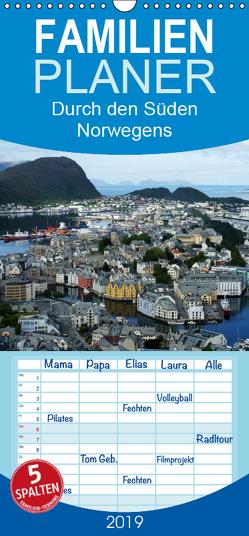 Norwegen 2019 – Familienplaner hoch (Wandkalender 2019 , 21 cm x 45 cm, hoch) von Bussenius,  Beate