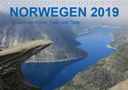 Norwegen 2019 – Im Land der Fjorde, Fjelle und Trolle (Tischkalender 2019 DIN A5 quer) von Zimmermann,  Frank