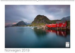 Norwegen 2019 – Land im Norden (Wandkalender 2019 DIN A2 quer) von kalender365.com