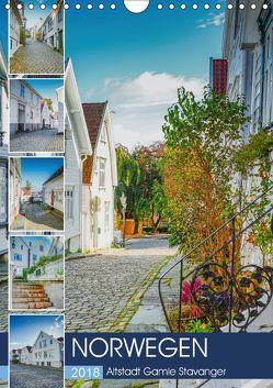 Norwegen – Altstadt Gamle Stavanger (Wandkalender 2018 DIN A4 hoch) von Meutzner,  Dirk