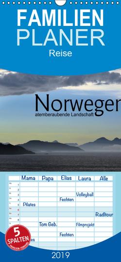 Norwegen atemberaubende Landschaft – Familienplaner hoch (Wandkalender 2019 , 21 cm x 45 cm, hoch) von calmbacher,  Christiane