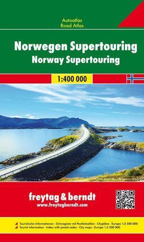 Norwegen, Autoatlas 1:400.000
