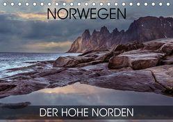 Norwegen – der hohe Norden (Tischkalender 2019 DIN A5 quer) von Thoermer,  Val