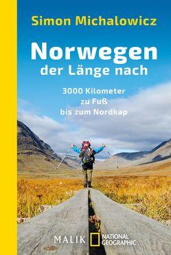 Norwegen der Länge nach von Michalowicz,  Simon