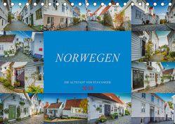 Norwegen – Die Altstadt von Stavanger (Tischkalender 2018 DIN A5 quer) von Meutzner,  Dirk