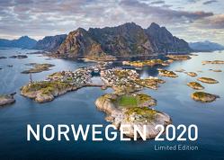 Norwegen Exklusivkalender 2020 (Limited Edition) von Zwerger-Schoner,  Gerhard, Zwerger-Schoner,  Petra
