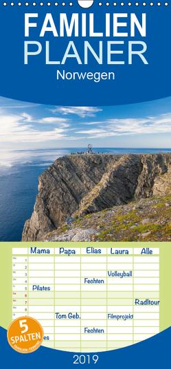 Norwegen – Familienplaner hoch (Wandkalender 2019 , 21 cm x 45 cm, hoch) von Jelen,  Hiacynta
