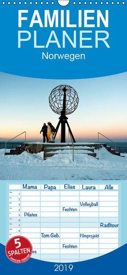 Norwegen – Familienplaner hoch (Wandkalender 2019 , 21 cm x 45 cm, hoch) von N.,  N.