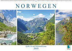 Norwegen: Fjorde, Wald und Mitternachtssonne (Wandkalender 2019 DIN A2 quer) von CALVENDO