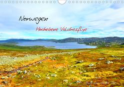 Norwegen – Hochebene Valdresflye (Wandkalender 2021 DIN A4 quer) von Berger,  Andreas