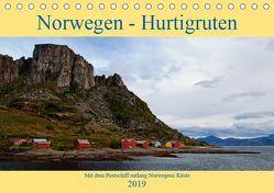 Norwegen – Hurtigruten (Tischkalender 2019 DIN A5 quer) von Enders,  Borg
