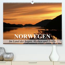 Norwegen – Im Land der Sagen, Mythen und Trolle (Premium, hochwertiger DIN A2 Wandkalender 2020, Kunstdruck in Hochglanz) von Stanzer,  Elisabeth