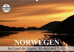 Norwegen. Im Land der Sagen, Mythen und Trolle (Wandkalender 2019 DIN A2 quer) von Stanzer,  Elisabeth