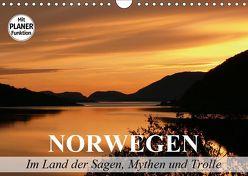 Norwegen. Im Land der Sagen, Mythen und Trolle (Wandkalender 2019 DIN A4 quer) von Stanzer,  Elisabeth