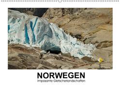 Norwegen – Imposante Gletscherlandschaften (Wandkalender 2019 DIN A2 quer) von Hallweger,  Christian