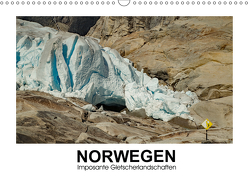 Norwegen – Imposante Gletscherlandschaften (Wandkalender 2019 DIN A3 quer) von Hallweger,  Christian
