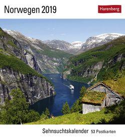 Norwegen – Kalender 2019 von Harenberg, Härtrich,  Thomas