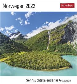 Norwegen Kalender 2022 von Bäck,  Christian, Harenberg, Römmelt,  Bernd