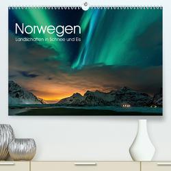 Norwegen, Landschaften in Schnee und Eis (Premium, hochwertiger DIN A2 Wandkalender 2021, Kunstdruck in Hochglanz) von Stoiber,  Wolfgang