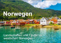 Norwegen – Landschaften und Fjorde im westlichen Norwegen (Wandkalender 2018 DIN A2 quer) von Feuerer,  Jürgen