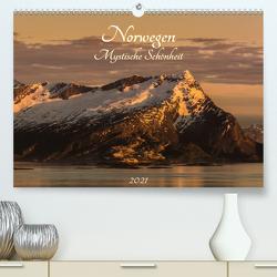 Norwegen – Mystische Schönheit (Premium, hochwertiger DIN A2 Wandkalender 2021, Kunstdruck in Hochglanz) von Wenk,  Marcel