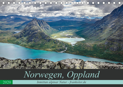 Norwegen, Oppland (Tischkalender 2020 DIN A5 quer) von Brehm (www.frankolor.de),  Frank
