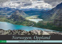 Norwegen, Oppland (Wandkalender 2018 DIN A2 quer) von Brehm (www.frankolor.de),  Frank