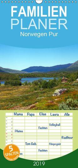Norwegen PUR – Familienplaner hoch (Wandkalender 2019 , 21 cm x 45 cm, hoch) von Prescher,  Werner