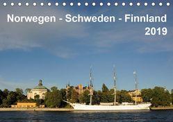 Norwegen – Schweden – Finnland (Tischkalender 2019 DIN A5 quer) von Haardiek,  Clemens